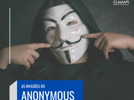 As invasões do grupo Anonymous atinge EUA