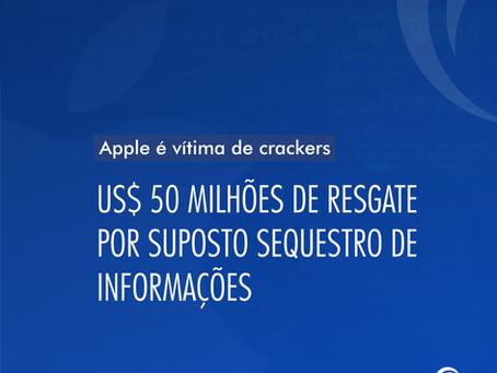 Apple é vítima de crackers que pedem US$ 50 milhões por suposto sequestro de informações