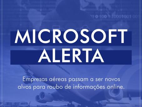 Microsoft alerta sobre ataque eminente a empresas de aviação