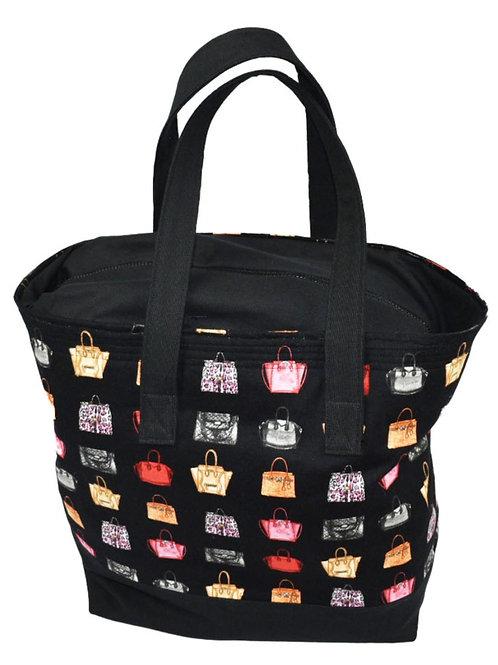 Bag of Bags Tote Bag with Zipper Top