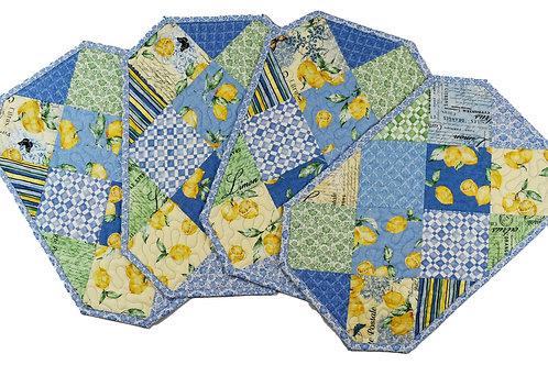 Lemon Squares Placemats