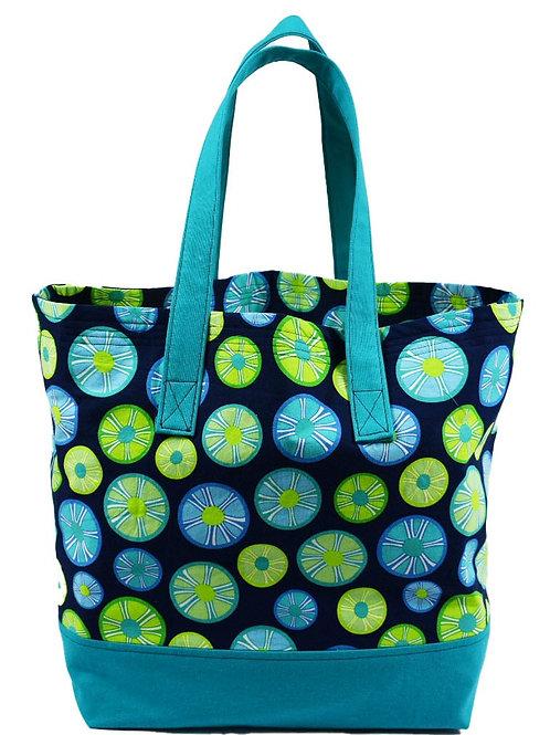 Citrus Wheel Tote Bag