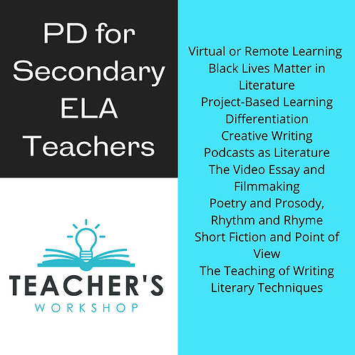 Professional Development for Secondary English Language Arts Teachers