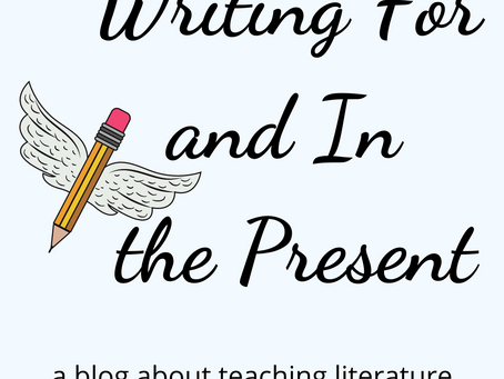 Writing For and In the Present