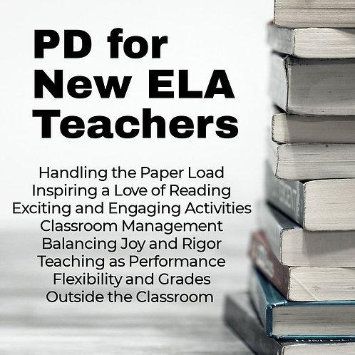 Professional Development for New English Language Arts Teachers