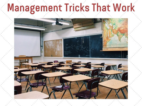 3 Simple Classroom Management Tricks That Work