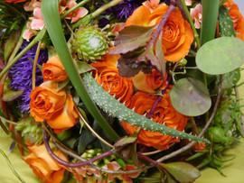 Brautbinderei orange 2