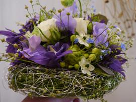 Brautstrauss lila