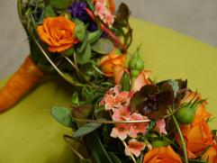 Brautbinderei orange