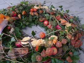 Trauerkranz Herbst