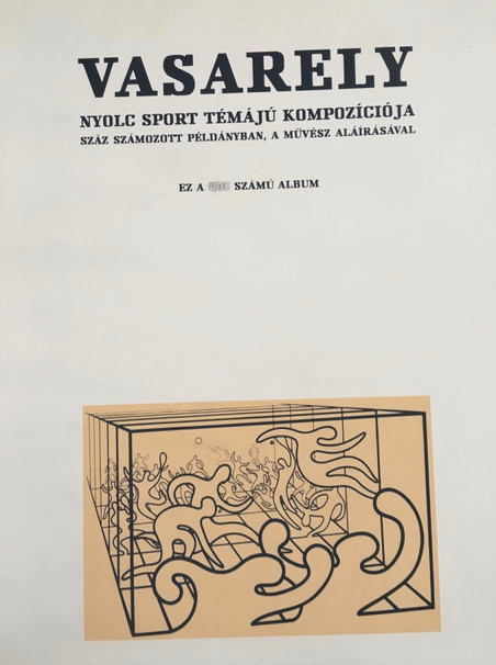 Victor Vasarely - 8 sportovních kompozic