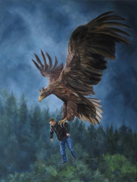 Hromopták / Giant bird