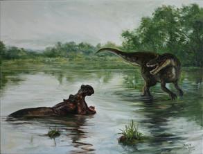 Čipekve jako teropodní dinosaurus / Chipekve as a teropod dinosaur