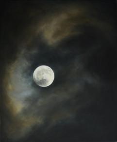 Měsíc 3, olej na plátně / Moon 3, oil on canvas – 140 x 115 cm