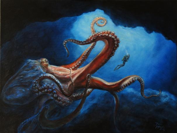 Gigantická Chobotnice / Giant octopus