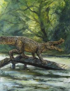 Čipekve jako bipední krokodýl / Chipekve as a biped crocodile