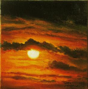 Miniaturní Západ   Miniature Sunset