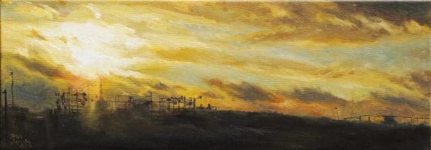Žlutý západ | Yellow Sunset