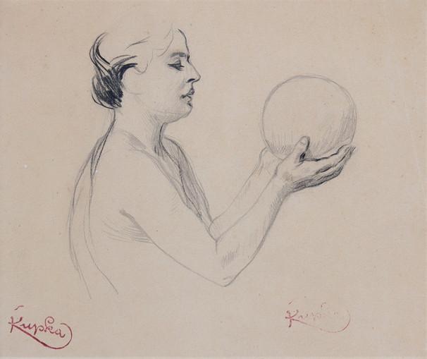 Žena s balónem