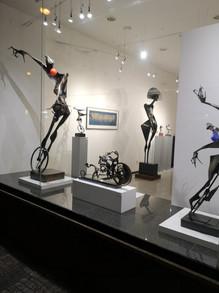 Igor Kitzberger - výstava soch 2019