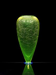 Uranová váza | Uranium Glass Vase