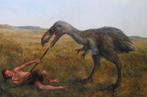 Hrůzopták / Scary-bird