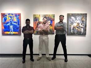 Fabricio Lara at Knupp gallery in Prague