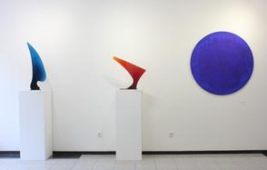 """Filip Nízký - autorská výstava """"Disky a křídla"""""""
