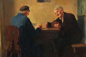 Hráči karet - neznámý autor
