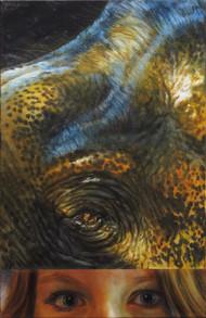 Slon ve večerních paprscích / Elephant in the evening Sun rays