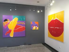 Jaromír Másler - instalace výstavy Poezie v Knupp gallery Praha