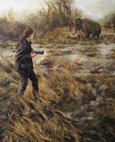 autoportrét s posledními mamuty v močálech / autoportrait with the last mamooths in the swamps