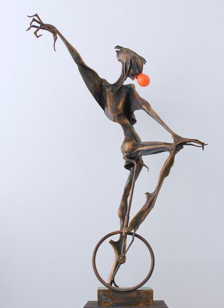 Na kole 2 - oranžová bublina