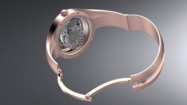 zapinaci mechanismus hodinek jitka rotat