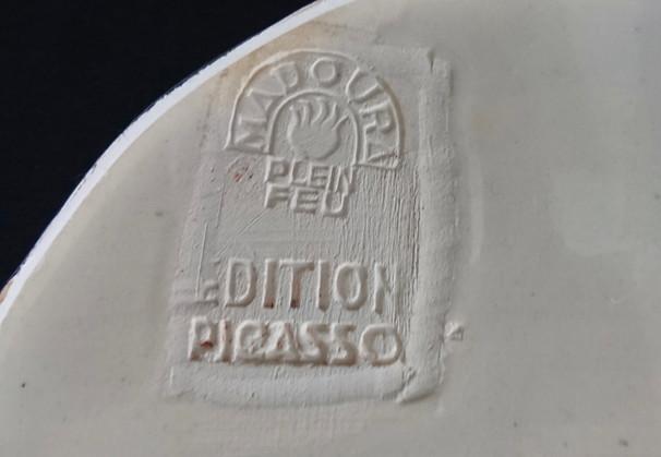 "Pablo Picasso - ""Colombe mate"""