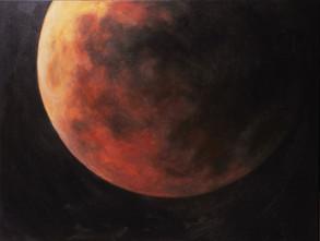 Rudý Měsíc v zatmění
