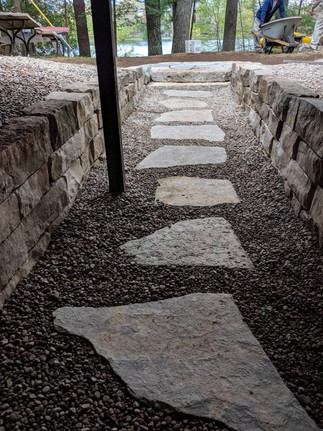 Walkway to Lake in Northern Wisconsin