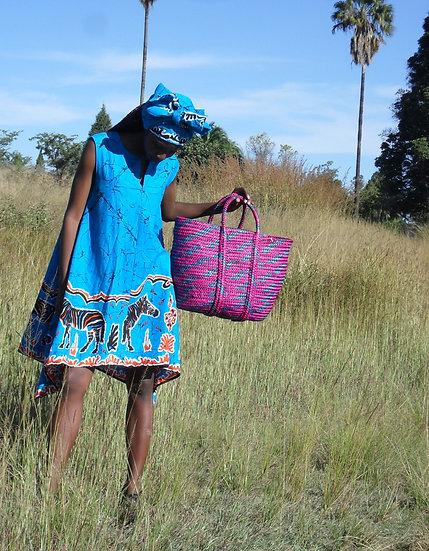 Blue Awassa Dress