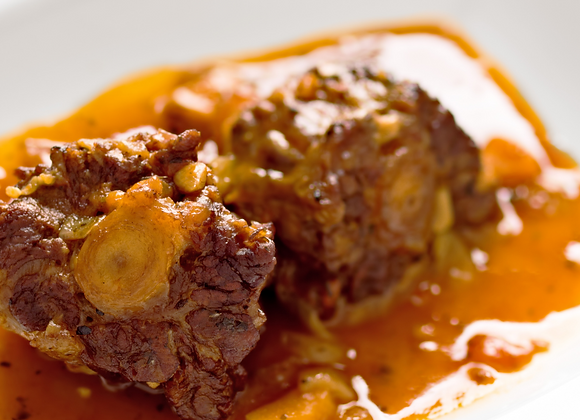 Oxtail Stew with Butter Beans