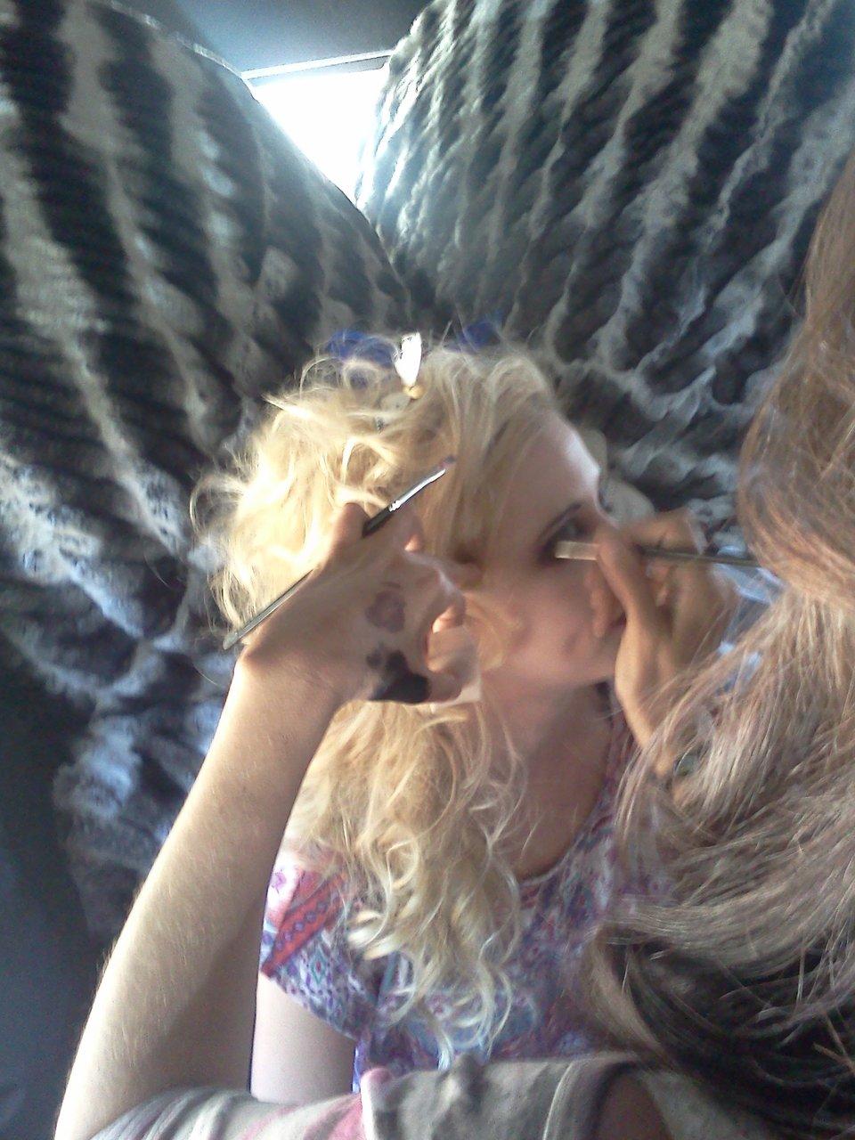 Gypsy Makeup Begining Proccess