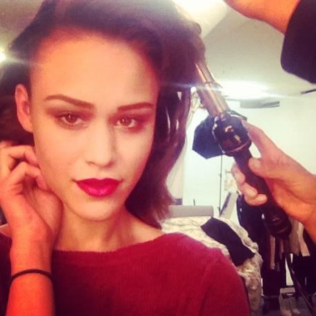 Magazine Shoot, Glam Hair/Makeup