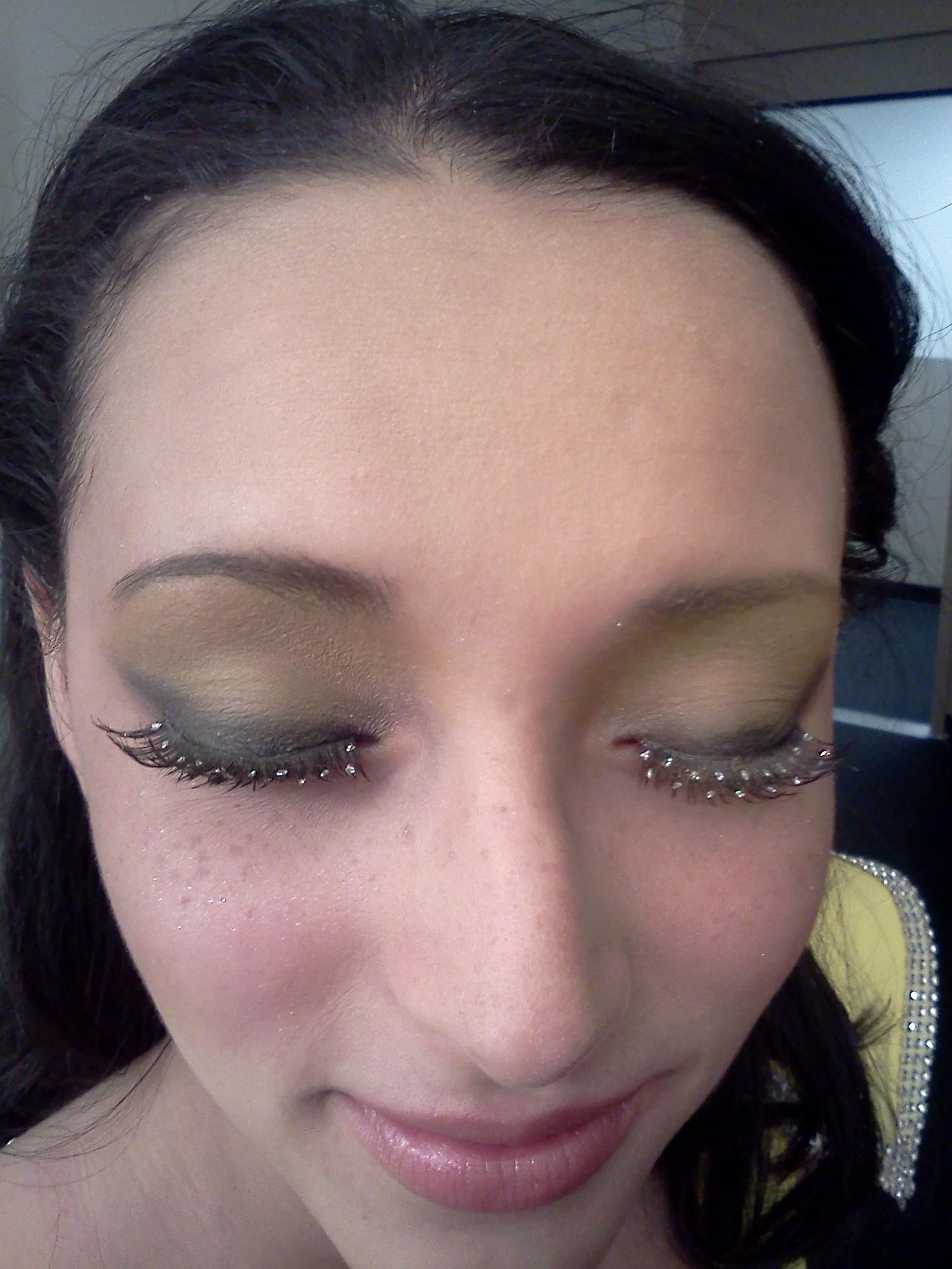 Eye makeup for film Galaxy Star