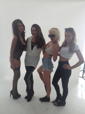 Arsenic Magazine Shoot Hair & MUP