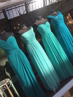 Glitz Ritz Tiaras turquoise window
