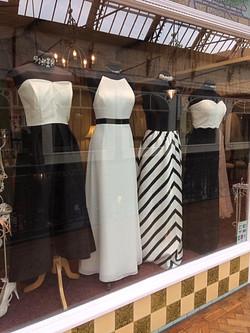 Glitz Ritz Tiaras black white window