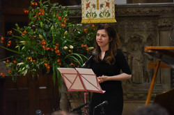 Claire Bywalec at St Ninians' Fundraiser