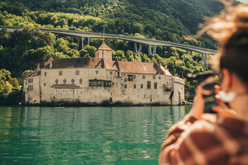 Shooting Chillon castle