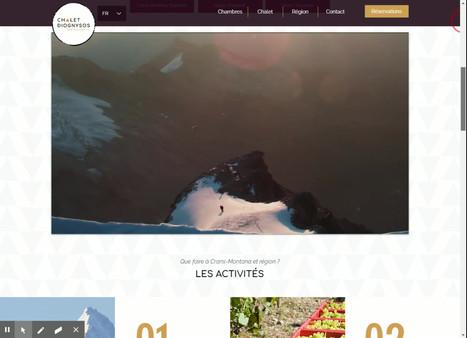 Home _ B&B Crans-Montana l Chalet Diogny