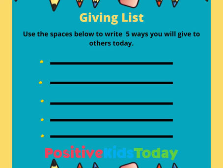 What's a Giving List?