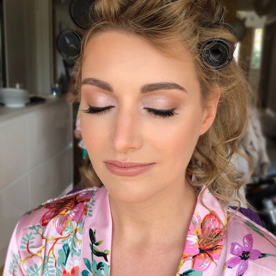 Destination wedding hair and makeup
